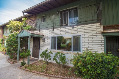 El Cajon Townhouse For Sale: 749 S Mollison #11