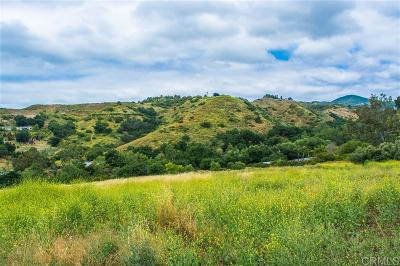 Fallbrook Residential Lots & Land For Sale: Vacant Lot #5 Stewart Canyon Road #5