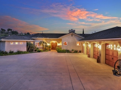 Bonsall Single Family Home For Sale: 5125 Olive Hill Trail