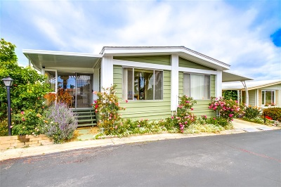 San Marcos Mobile/Manufactured For Sale: 650 S Rancho Santa Fe Rd #246