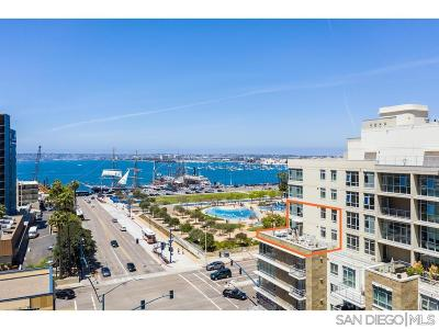 San Diego Attached For Sale: 1431 Pacific Hwy #610