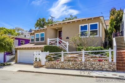 North Park, North Park - San Diego, North Park Bordering South Park, North Park, Kenningston, North Park/City Heights Single Family Home For Sale: 3624 Wilshire Terrace
