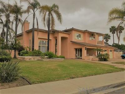 Chula Vista Single Family Home For Sale: 1153 Carlos Canyon
