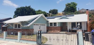 San Diego Single Family Home For Sale: 6462 Gross Street