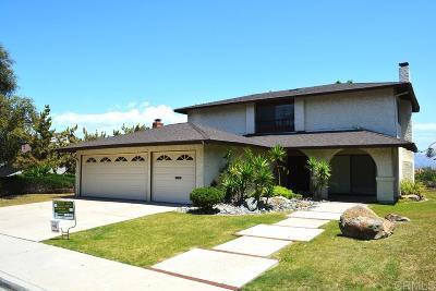 el cajon Single Family Home For Sale: 1453 Honey Hill Rd.