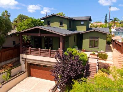 North Park, North Park - San Diego, North Park Bordering South Park, North Park, Kenningston, North Park/City Heights Single Family Home For Sale: 2420 Felton Street