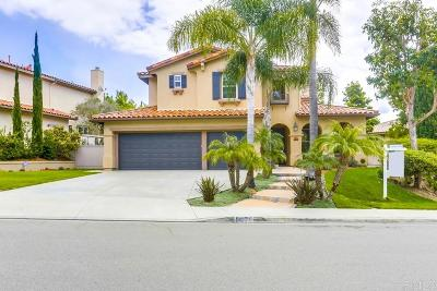 Carlsbad Single Family Home For Sale: 8076 Paseo Arrayan