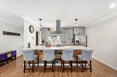 La Mesa Single Family Home For Sale: 3533 Trophy Dr