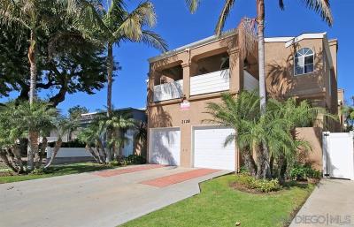 Pacific Beach Rental For Rent: 2128 Felspar St. #D