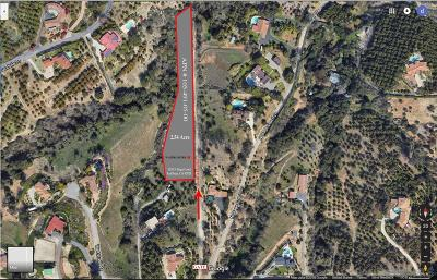 Fallbrook Residential Lots & Land For Sale: 1052 N Stage Coach Lane #5