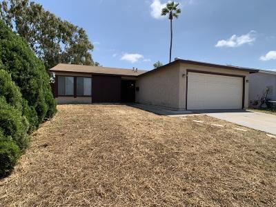 San Diego Single Family Home For Sale: 8555 Jade Coast Dr