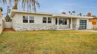 Oceanside Single Family Home For Sale: 1626 Broadway