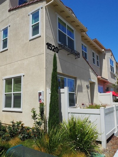 Chula Vista Attached For Sale: 1520 Santa Carolina Rd #1