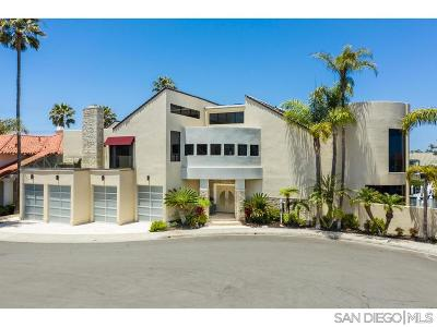 Coronado  Single Family Home For Sale: 4 Buccaneer Way