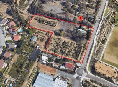 San Marcos Residential Lots & Land For Sale: La Mirada Dr