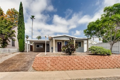 San Diego Single Family Home For Sale: 3035 Nile St