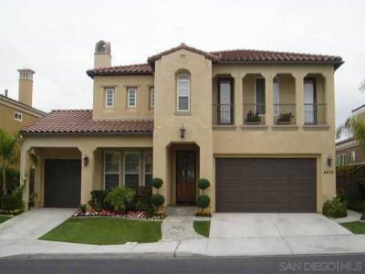 San Diego Single Family Home For Sale: 4478 Rosecliff Place
