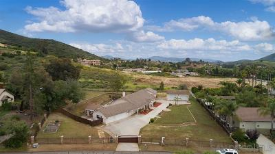 San Marcos Single Family Home For Sale: 615 Cox Rd