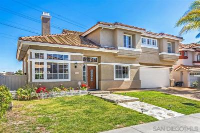 Chula Vista Single Family Home For Sale: 745 Marbella Cir