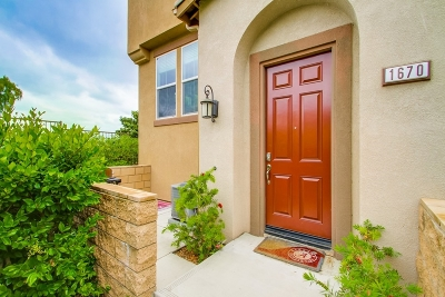 San Marcos Attached For Sale: 1670 Waterlily Way