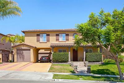 Chula Vista Single Family Home For Sale: 1716 Crossroads St