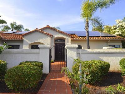 Escondido Single Family Home For Sale: 1300 Dexter Place