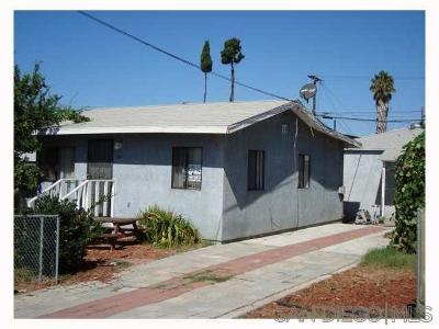 San Diego Multi Family 2-4 For Sale: 3428 - 3430 Martin Ave