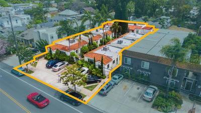 San Diego Multi Family 5+ For Sale: 1035 Robinson Ave