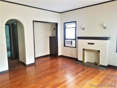 Hillcrest Rental For Rent: 3785 Park Blvd #3