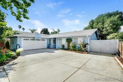 Fallbrook Single Family Home For Sale: 1014 La Solana Dr.