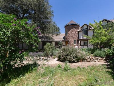 Santa Ysabel Single Family Home For Sale: 4756 Glenside Rd