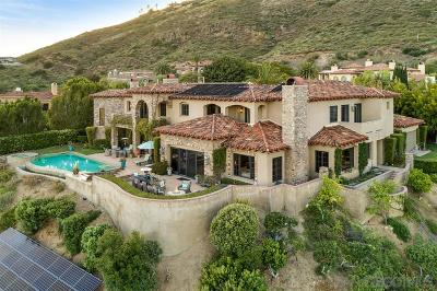 Rancho Santa Fe Single Family Home For Sale: 17681 Las Repolas
