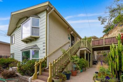 San Diego Multi Family 2-4 For Sale: 806-812 W Brookes Ave