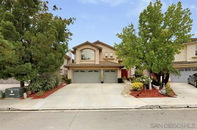 Chula Vista Single Family Home For Sale: 1165 Crystal Downs Dr