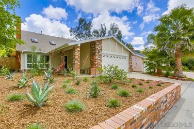 San Diego Single Family Home For Sale: 11443 Meknes