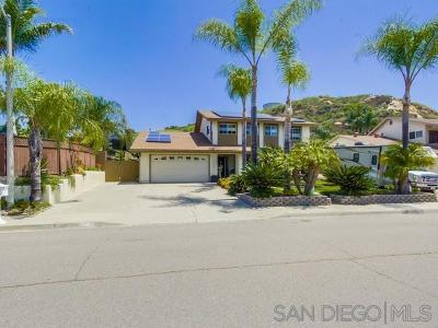 el cajon Single Family Home For Sale: 12507 Melrose Pl