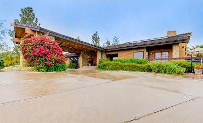 San Diego County Single Family Home For Sale: 13905 Via De Jamul