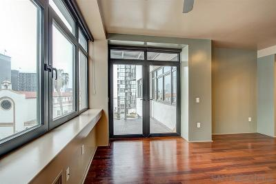 San Diego Attached For Sale: 1551 4th Ave #410