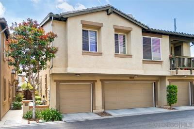Chula Vista Attached For Sale: 282 Tiburon #181