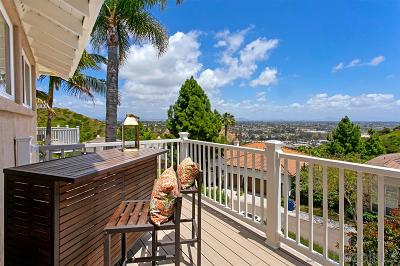 La Jolla Single Family Home For Sale: 6083 Wooddale Row