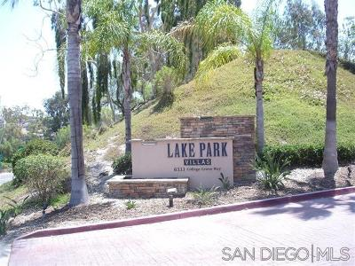 San Diego CA Townhouse For Sale: $235,000
