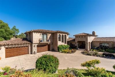 Single Family Home For Sale: 17660 La Catrina