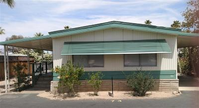 Mobile/Manufactured For Sale: 351 Palm Canyon Dr #73