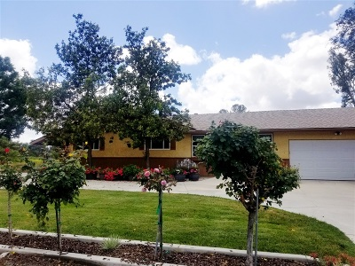 San Diego County Single Family Home For Sale: 456 N Hunter St