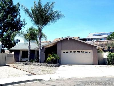 San Diego County Single Family Home For Sale: 10346 Julio Pl