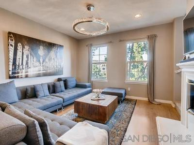 Mission Hills, Mission Hills/Hillcrest, Mission Valley Townhouse For Sale: 2650 Escala Circle