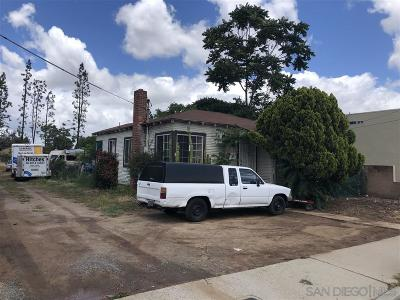 El Cajon Single Family Home For Sale: 330 Wisconsin Ave