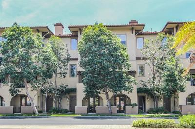 Mission Hills, Mission Hills/Hillcrest, Mission Valley Townhouse For Sale: 8301 Rio San Diego Dr #13