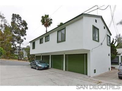 San Diego Multi Family 5+ For Sale: 3503 Florida Street