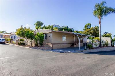 San Marcos Mobile/Manufactured For Sale: 150 S Rancho Santa Fe Road #68